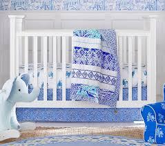 lilly pulitzer bazaar crib bedding sets