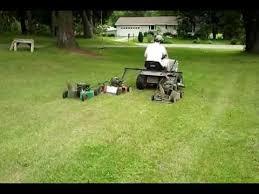pull behind riding mower no zero turn