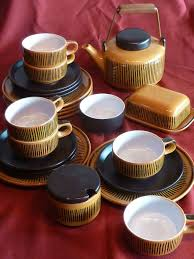 Waechtersbach Kaffeeservice PETRA Keramik Entwurf Ursula Fesca ca 1960 | Ursula,  West german pottery, Petra