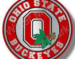 Ohio State Buckeyes Decal Etsy