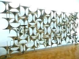 metal artwork for walls