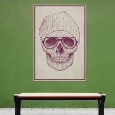 Sugar Skull Wall Decal Wayfair