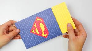Tarjeta Logo Superman Para Super Papa Super Mama Con Plantillas