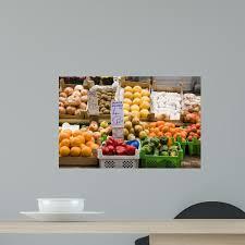 European Fruit And Vegetable Wall Decal Wallmonkeys Com