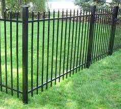 Iron Fence Fence Design Iron Fence Wrought Iron Fences