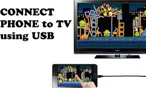 how to connect your phone to tv via usb