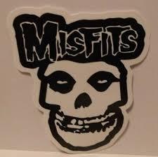 Entertainment Memorabilia Artists M Misfits Music Memorabilia 8709 White Misfits Crimson Ghost Skull Punk Band Rub On Vinyl Sticker Decal Zsco Iq