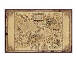 imod harry potter marauder s map poster
