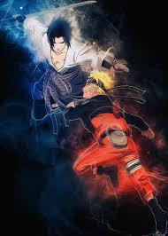 Naruto and Sasuke - Coolbits Art