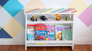 Easy Diy Kids Bedside Table With Book Storage Plans Anika S Diy Life