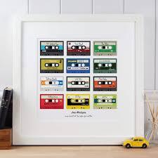 personalised mixtapes print make it