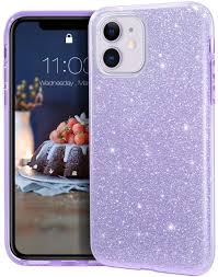 Amazon.com: MATEPROX iPhone 11 case,Bling Sparkle Cute Girls Women  Protective Case for iPhone 11 6.1inch(Purple): Electronics