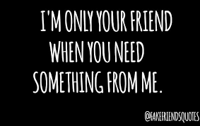 fake friends quotes home facebook