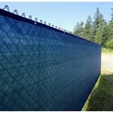 Aleko 5 X 50 Blue Fence Privacy Screen Outdoor Backyard Fencing Windscreen For Sale Online Ebay