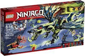 Amazon.com: Lego Ninjago 70736 Attack of The Morro Dragon Building ...