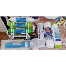Combo 9 cấp lọc nước máy Ro có đèn UV và màng RO