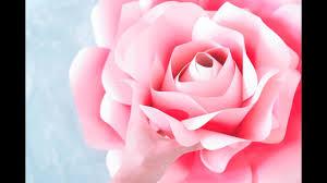 paper roses rose tutorial templates