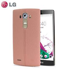 lg g4 pink leather replacement back cover