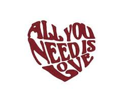 All You Need Is Love Heart Decal Vinyl Car Decal Tumbler Cup Decal Laptop Sticker Love Decal Hippie Decal Beet Car Decal Hippie Heart Decals Car Decals