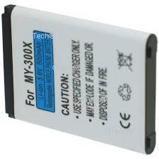 Batterie pour SAGEM MY302X - Achat ...