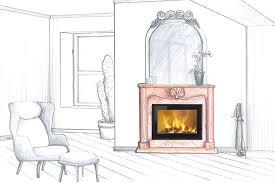 heat output of an open fireplace