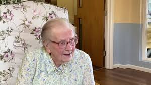 Ivy Ellis centenarian, interview - YouTube