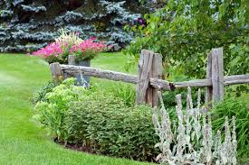 40 Beautiful Garden Fence Ideas Garden Fencing Rustic Garden Fence Fence Landscaping