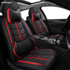 front rear leather car seat covers for