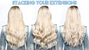stacking your hidden crown extension