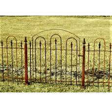 Wrought Iron Fence Gate 3 Ft Tall Decorative Iron Gate