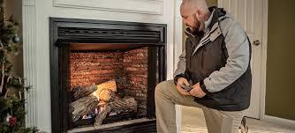 install a propane fireplace insert