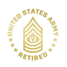 Army Retired Military Police Corps 4 Bumper Car Sticker Decal Made In Usa