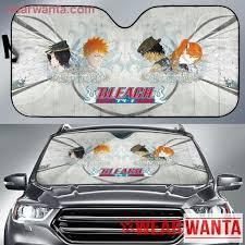 Bleach Ichigo Rukia Orihime Chad Anime Auto Sun Shade Nh06 Wear Wanta