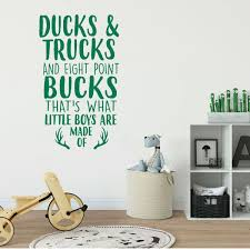 Hunting Decor For Kids Vinyl Decor Wall Decal Customvinyldecor Com