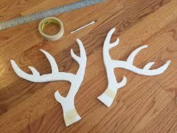 make a diy deer antlers headband the