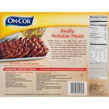 boneless rib shaped patties 26 oz box
