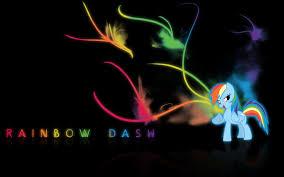 48 mlp rainbow dash wallpapers on