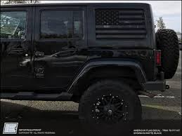 Jeep Wrangler Jk American Flag Side Window Decal Fits 2007 2018 Jk Jku Jeep Wrangler Jeep Stickers Jeep Wrangler Jk