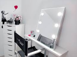 makeup mirror with lights how to