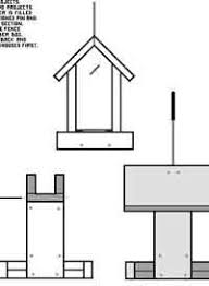 bird feeder woodcraft plans