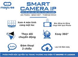Camera giám sát Magicsee S6300 PLus - Xoay 360 độ