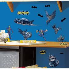 Roommates Batman Gotham Guardian Peel And Stick Wall Decals Walmart Com Walmart Com