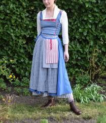 belle costume diy belle blue dress