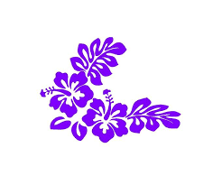 Excited To Share This Item From My Etsy Shop Hibiscus Flower Decal Hibiscus Decal Flower Decal Custom V Custom Vinyl Decal Floral Decal Truck Window Stickers