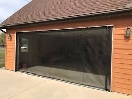 ZIP-ROLL BRAND, ROLL-UP GARAGE DOOR SCREEN, 16' X 7'-90 DEGREE ...
