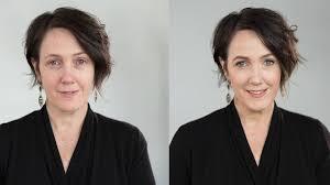 makeup tutorial using natural cosmetics
