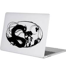 Spirited Away Japanese Anime Laptop Decal Sticker For Macbook Pro Air Retina Mac 11 12 13 15 Inch Vinyl Mi Notebook Skin Decal Laptop Skins Aliexpress