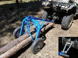 dragging logs with an atv and log arch