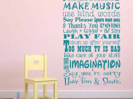 Playroom Rules Wall Decal Etsy Alphabet Childrens Design Sayings Best Cheap Vamosrayos