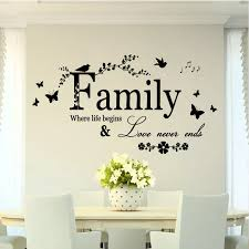 Removable Quote Word Decal Vinyl Wall Stickers Diy Home Room Decor Art Wall Stickers Aliexpress